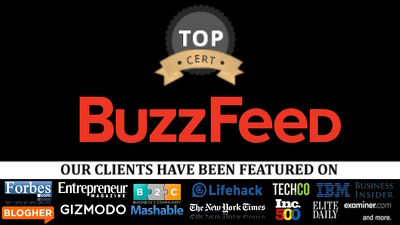 Write and publish a guest post on BuzzFeed BuzzFeed.com, Medium.com, DA 83 PA 88