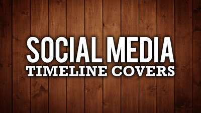 design a facebook, twitter, google+ or youtube cover - free profile picture