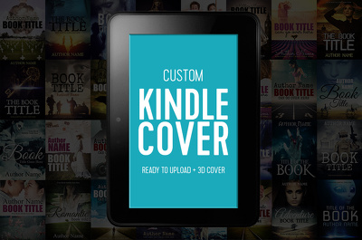 Design Kindle book cover for your next bestseller