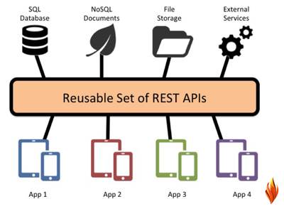 Develop one webservice or restful APIs for regular updation of the Data