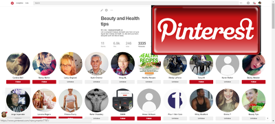 Set up your PINTEREST  page  create board add pins