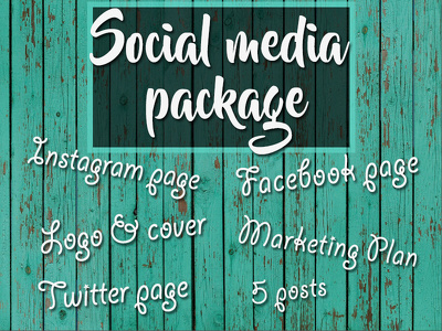 Create all social media pages for your business in a price of one