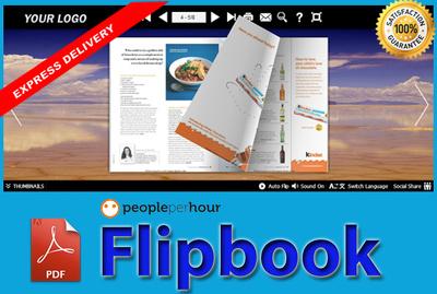 Convert PDF to Flipbook