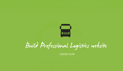 Build professional logistics website