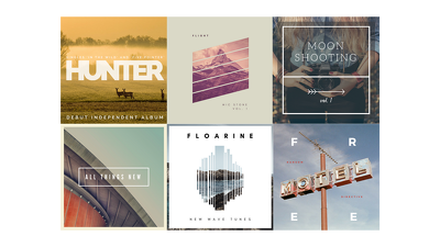 Design your CD/Album/LP/EP cover artwork