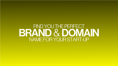 Find the perfect domain/ brand name for your company