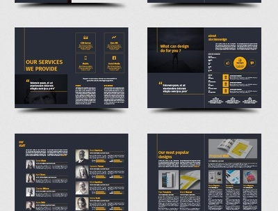 Design Creative Corporate Brochure PDF of 10 Pages