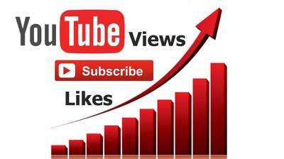 Provide 3000 YouTube Views or 100 guaranteed YouTube subscribers or 500 Youtube Likes