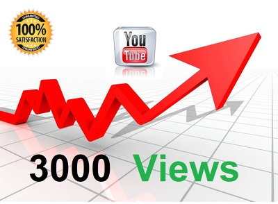 YouTube Boost - 3000 views, 200 likes, 100 subscribers, 50 favorites & 50 comments