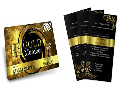 Design membership or business card