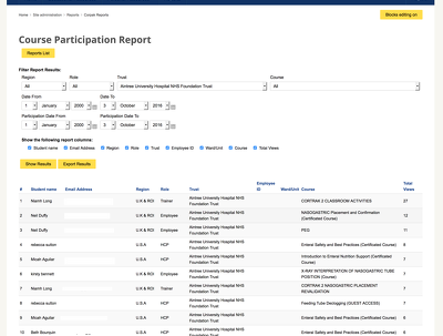 Develop a custom Moodle report plugin