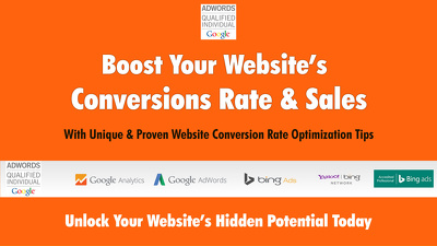 Boost Your Website's Conversion Rate & Sales.