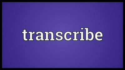 Professionally transcribe up to 5 mins of audio/video file into Word format
