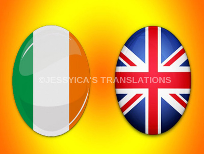 Translate 500 words from English to Irish or Irish to English