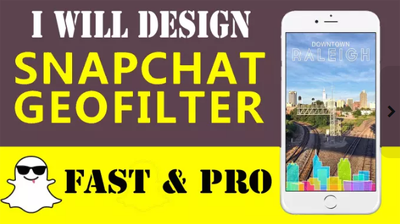 design a Snapchat filter and Geofilter