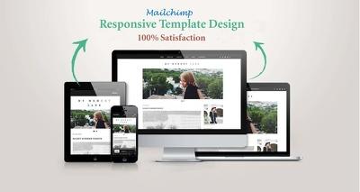 Responsive mailchimp template design