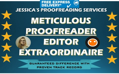 Proofread, edit and make perfect any document in less than 24 hours