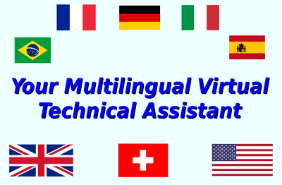 Be your technical sales assistant with 6 languages per hour