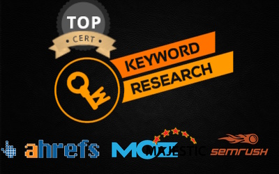 TOPNOTCH SERVICE: do professional Keyword Research using AHREFs, SEMrush and SpyFU