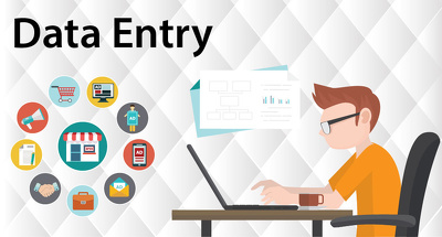 Do all type data entry / Excel work / Upload Web Products