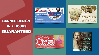 Banner Design in 2 Hours Guaranteed