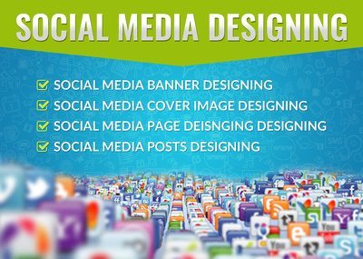 Design COVER IMAGE/ BANNER / PAGE/ POST for Social Media Website