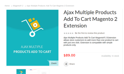 Create an Ajax Multiple Products Add To Cart Magento 2 Extension