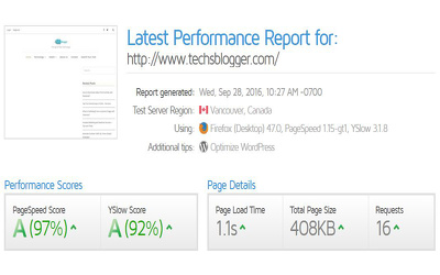 Improve your site GTMetrix score and speed up