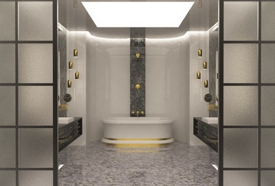 Professionally Build and Render Highly Detailed 3D Realistic Images for Bathroom