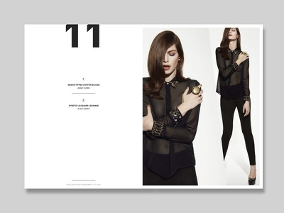 Create the entire content for your magazine, catalogue or LookBook