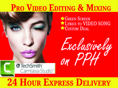 Do any video editing and mixing