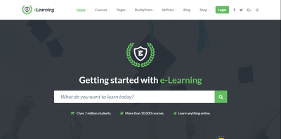 Develop an e-learning / learning management system using wordpress