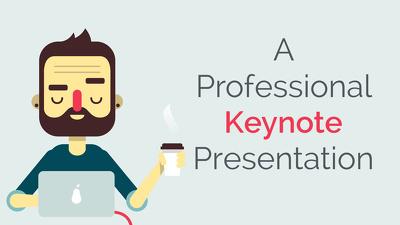 Create a 6 slide professional Keynote presentation for $25