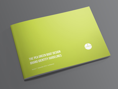 Design your company logo and brand guidelines manual