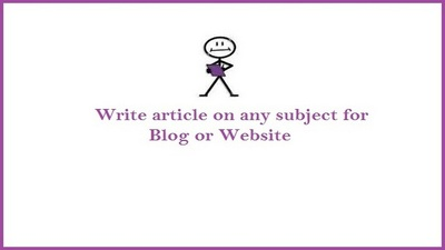 Write 10 x 1000 words original researched article on any topic or niche