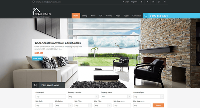 Design and develop Real Estate Website with wordpress premium theme