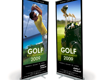 Design Roll up Banner / Standee Design for you