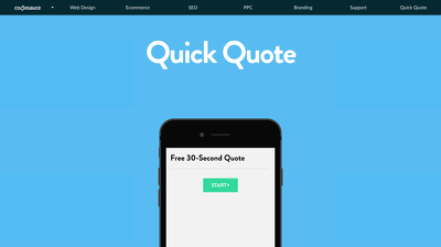 Build a quote calculator for your website. Great for lead generation and conversion.