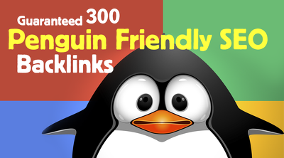 Create 300 Penguin friendly SEO backlinks for your niche website in one week