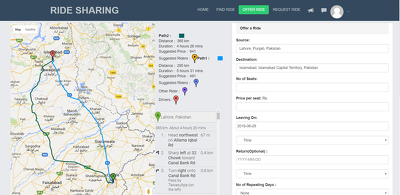 Provide you a Google Map API service