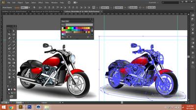 Vectorize any image  , logo , cartoon , into ai formate