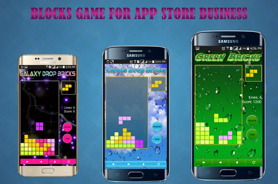 Make Blocks Game For App Store Business. Paid or Free With Admob earnings