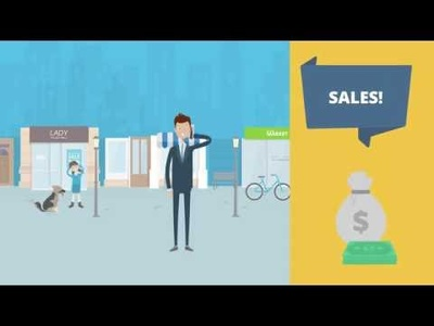 Create an eye catching explainer video to sell your product / service with voice over