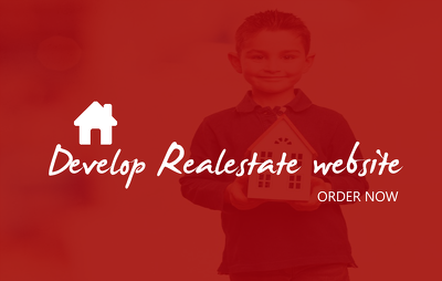 Develop realestate website with property listing feature