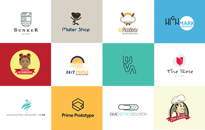 Design minimalist and modern logos for you