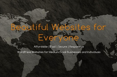 Design beautiful, fast, responsive WordPress website in just 3 days!