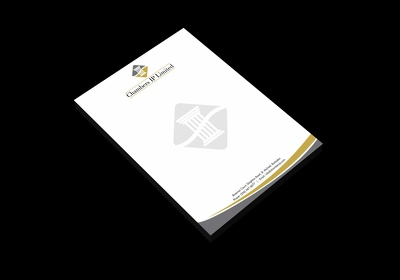 Design a professional business LETTERHEAD