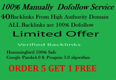 100% DOFOLLOW- 40 PR9 HIGH AUTHORITY Safe SEO High Pr Backlinks