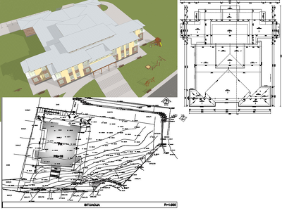 Redraw your old Pdf drawings  and sketches or any drawings in Autocad/Archicad.