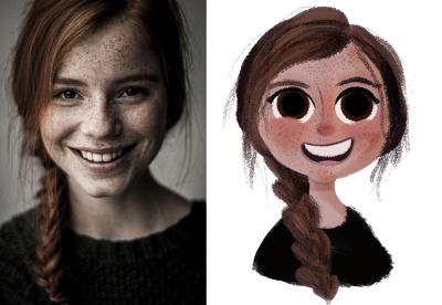 Draw caricatures for your websites, profiles, gifts and more!